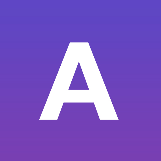 The logo for Azire VPN - represented by a white 'A' letter on a purple square.