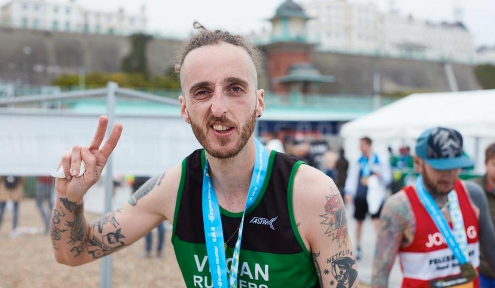 Jhon Cosgrove - Vegan Runner