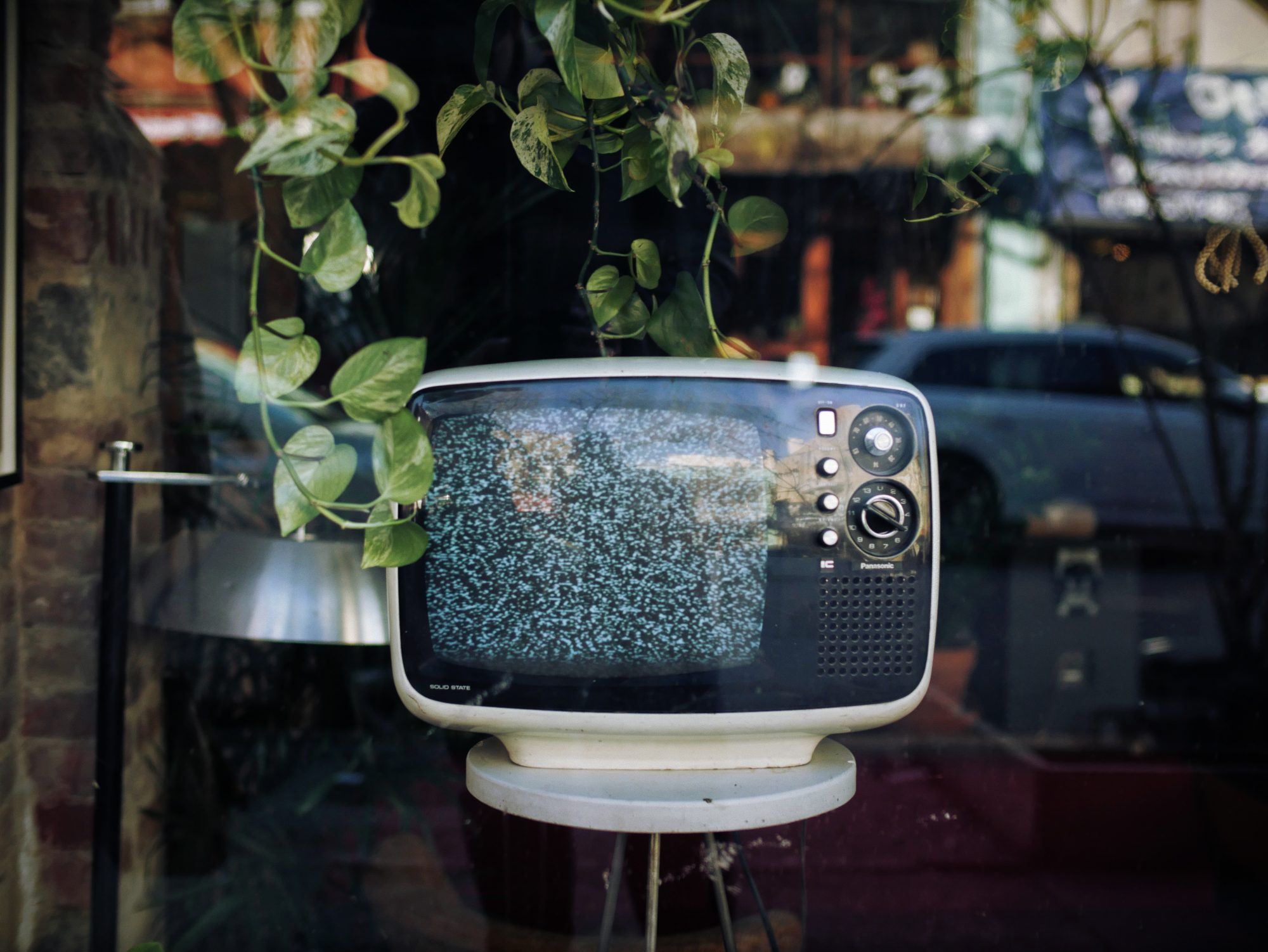 A picture of an old tv showing static - Photo by Patrick Tomasso on Unsplash