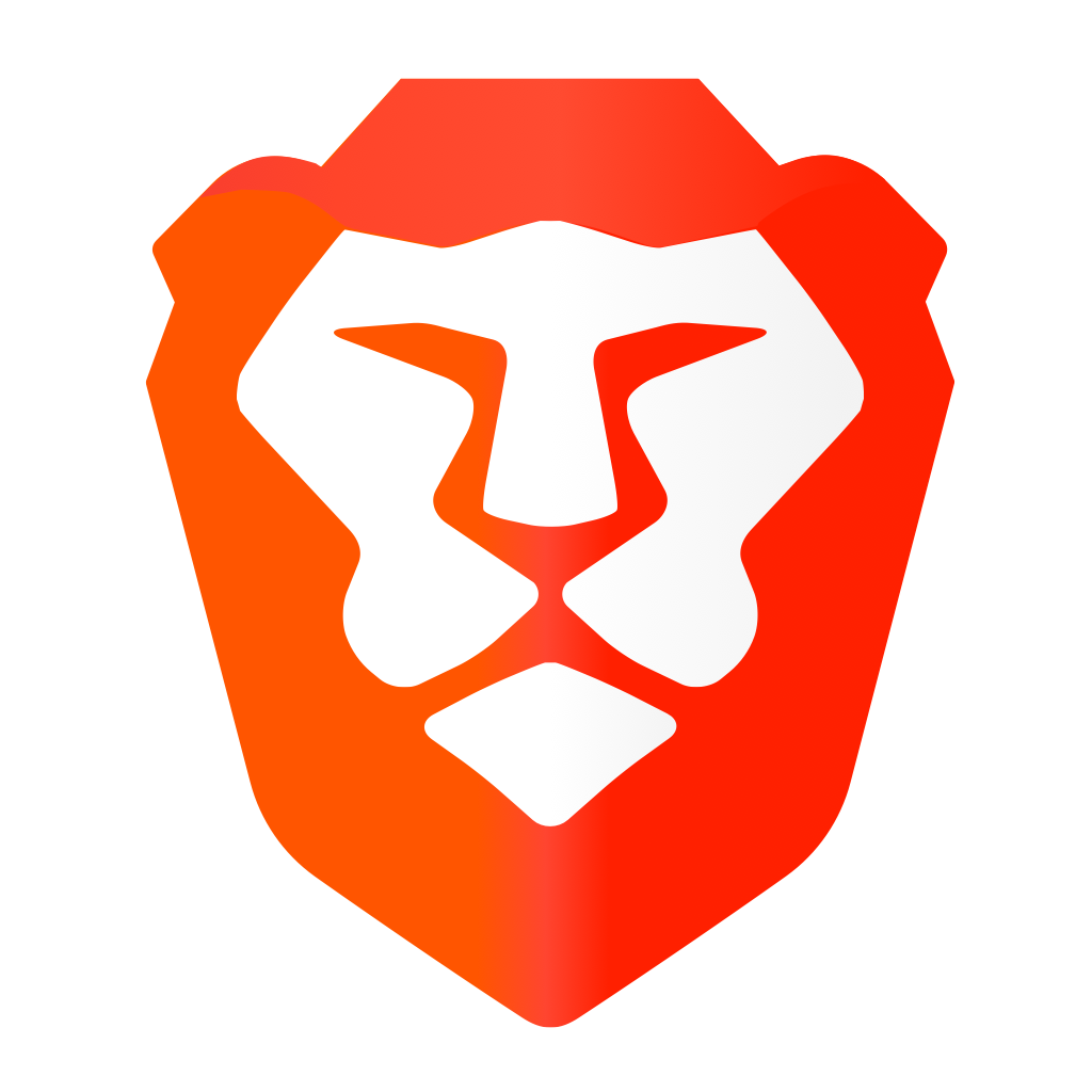 Brave web browser logo icon