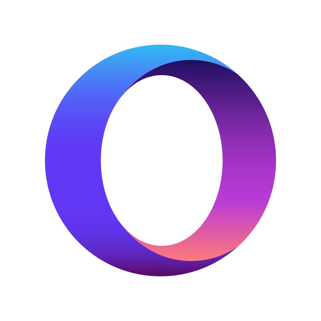 Opera Touch Icon Logo